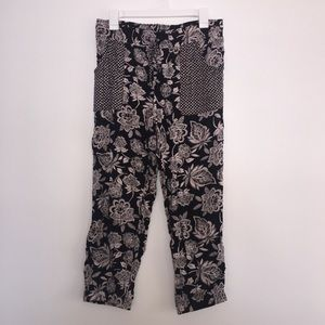 American Eagle printed flowy joggers